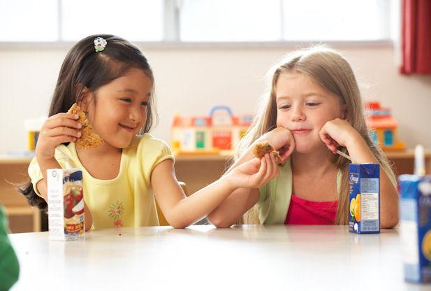 sharing kid