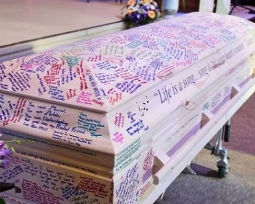 Classmates Turn Student's Coffin into the Yearbook She Never Received
