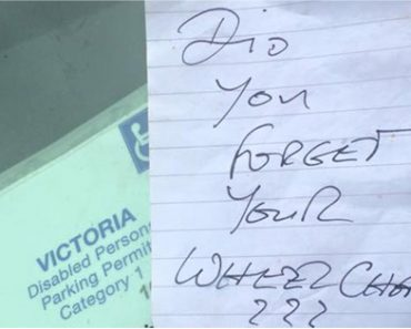 Disabled Woman Writes Epic Response to Stranger Who Left Her A Rude Note