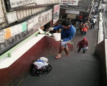 Japanese Man Lauded for Painting an Overpass in Baguio City for Free!