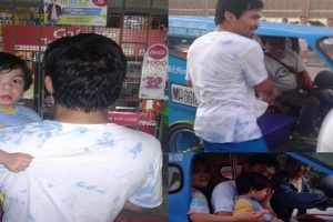 Viral: Manny Pacquiao Takes Son to Sari-Sari Store and on a Tricycle Ride