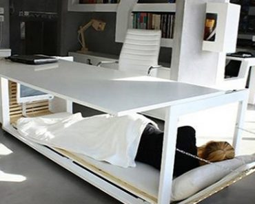 This Private Nap Desk Is A Must-Have For Your Office