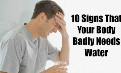 10 signs that your body badly needs water
