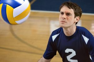 Team Captain Uses Face to Block the Spikes and Win in this Epic Volleyball Match!
