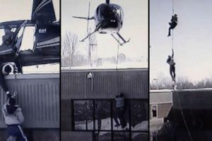 Canadian Inmates Attempt Epic Jail Escape Using Helicopter