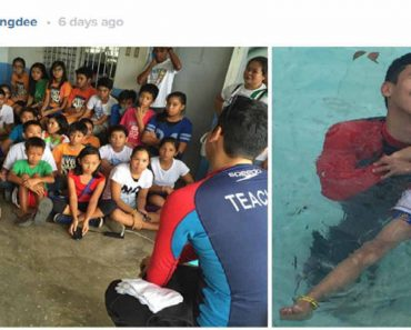 Enchong Dee Offers Free Swimming Lessons for Kids