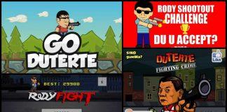 Duterte Mobile Game Apps