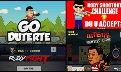 Duterte Mobile Game Apps