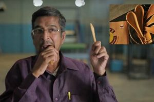 Indian Researcher Creates Edible Spoons and Forks