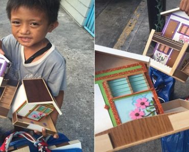 Boy Sells 'Alkansyang Bahay' During Weekends to Help Family Earn Money
