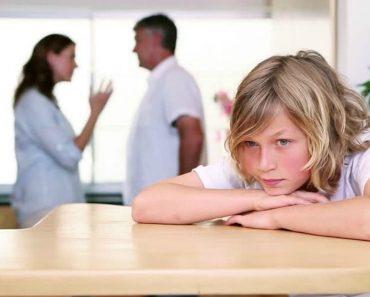 Study: Arguing Parents Can Damage a Child's Life Chances