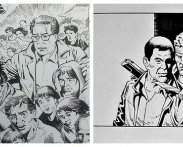 Artist of Roxas' Comics Says He's Actually Voting for Duterte