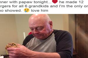 """Girl's Tweet About Sad """"Papaw"""" Goes Viral"""