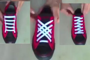 LOOK: Awesome New Styles to Lace Your Shoes… Must Try!