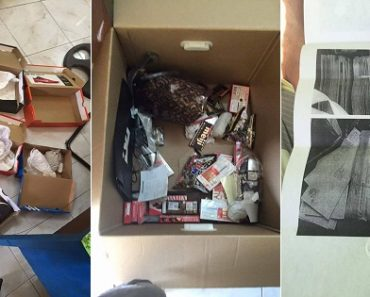 OFW's Balikbayan Box Containing Shoes and Chocolates Replaced with Newspaper/Mail Bundles