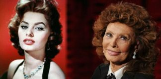 Sophia Loren then and now