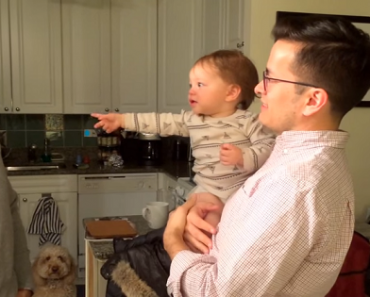 This Adorable Boy Gets Confused with Dad's Identical Twin