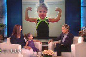 Ellen DeGeneres Features Amazing 3-Year-Old Gymnast