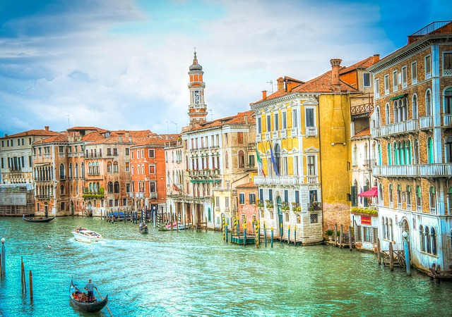 The Grand Canal of Venice in Italy