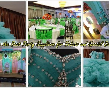 GUIDE: Finding the Best Party Suppliers for Debuts and Special Occasions