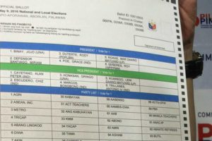 Comelec Admits 700,000 Ballots Are Defective; Assures It Won't Be Used for Cheating