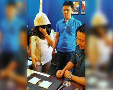 Woman VOLUNTARILY Turns Over P1.7M Shabu to Dumaguete Cops; Afraid of Duterte?