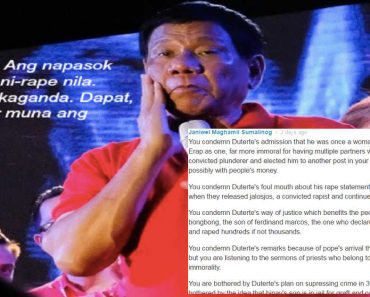 Supporter Defends Duterte Amid Alleged Mudslinging and 'Double Standard' by Local Media