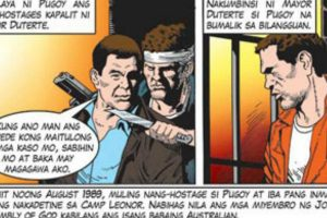 SEE: Pugoy Hostage-Taking Portrayed in Duterte Comics