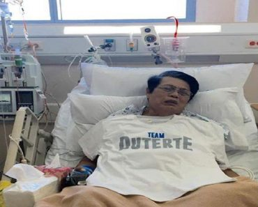 This Loyal Supporter Campaigns for Duterte from the Hospital!