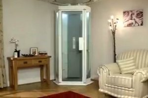 This Shaft-Less Elevator is Perfect for Your Home!