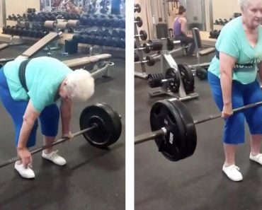 78-Year-Old Grandma Goes Viral for Lifting 225 Pounds of Weight