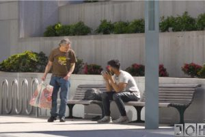 This Homeless Guy's Generosity is Very Admirable!