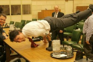 PM Justin Trudeau's Gravity-Defying Yoga Pose Will Leave You in Awe