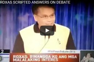 WATCH: Was Mar Roxas Given Debate Questions Beforehand?