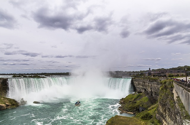 The Niagara Falls in USA/Canada