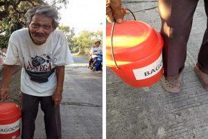 LOOK: 80-Year-Old Grandpa Walks 20 Kilometers a Day to Sell 'Bagoong'