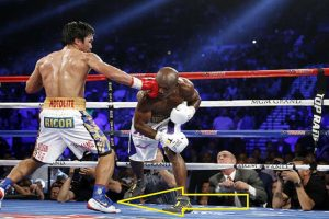 Even After Brand Dropped Him, Pacquiao Wore Nike Shoes to Bradley Fight