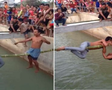 LOOK: Human Version of 'Spider Fight'