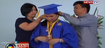 Daughter of 'Kwek Kwek' Vendor Graduates Valedictorian from Private High School