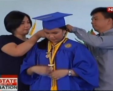 Daughter of 'Kwek Kwek' Vendor Graduates Valedictorian from Private High School