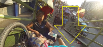 """Faceless Biker"" Goes Viral for Random Acts of Kindness"