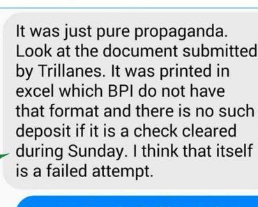 BPI IT Officer Allegedly Clears Duterte's Name on Hidden Wealth Allegations