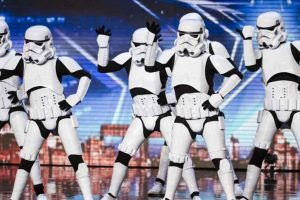 Simon Cowell Hits Golden Buzzer for Dancing Stormtroopers