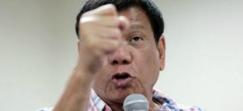 Duterte Says He Will Not Change His Character