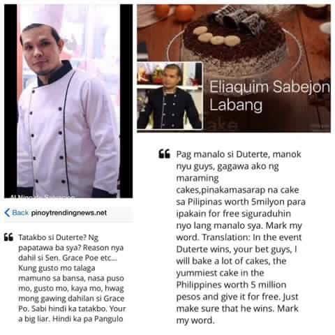 PHOTO CREDIT: Facebook/Cake ni Jack Labang