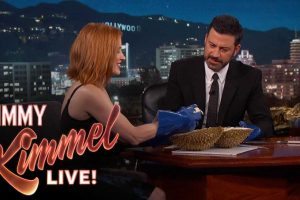 Watch TV Host Jimmy Kimmel Eat Durian For The First Time