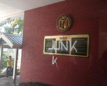 Assistant Secretary Slams Makabayan Bloc for Vandalizing DepEd Building after K-12 Dialogue