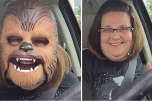 """This Laughing """"Chewbacca Mom"""" Is The Latest Facebook Viral Star"""