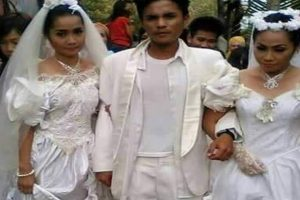Guy Forced to Marry Both Women Fighting Over Him