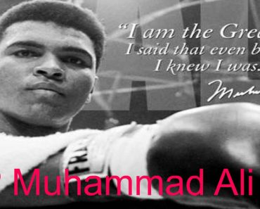Boxing Legend Muhammad Ali, Dead at 74